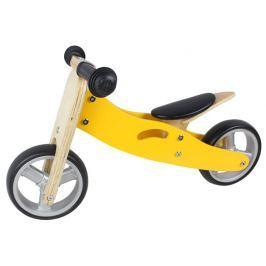 Nicko Dřevěné odrážedlo 2v1 mini - žluté