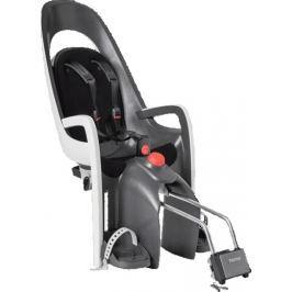 Hamax Polohovatelná cyklosedačka Caress Plus s uzamykatelným adaptérem na nosič, šedá/bílá/černá