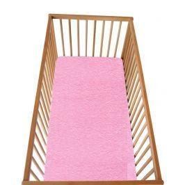 Cosing Dětské prostěradlo s gumou růžové 120x60 cm