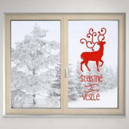 Housedecor Samolepka na sklo Sob s přáním