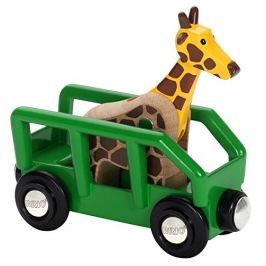 Brio WORLD 33724 Žirafa a vagón