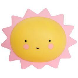 Little Lovely Company Noční mini světýlko Slunce