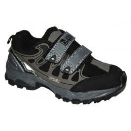 Bugga Chlapecká softshellová obuv - šedá