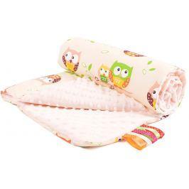 My Best Home Minky deka Plus 50x75 cm, sova béžová-smetanová
