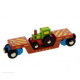 Bigjigs Vagon s traktorem