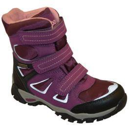 Peddy Dívčí zimní boty - fialové