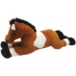 Mac Toys Kůň 80 cm - bílo-hnědý