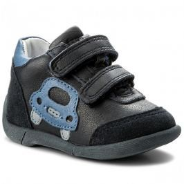 Froddo Chlapecké kotníkové boty s autem - modré