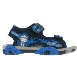 Primigi Chlapecké sandály se žralokem - modré