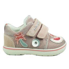 Primigi Dívčí kotníkové boty s melounem - světle růžové