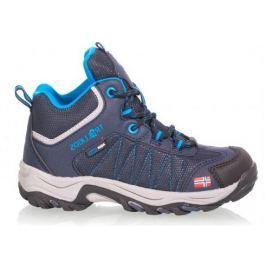Trollkids Dětská outdoorová obuv Kids Fjell Hiker - modrá