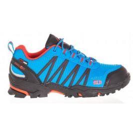 Trollkids Chlapecká outdoorová obuv Trolltunga Hiker Low - světle modrá