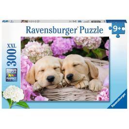 Ravensburger Sladcí psi v košíku 300 dílků