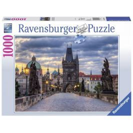 Ravensburger Praha: Procházka po Karlově mostě 1000 dílků
