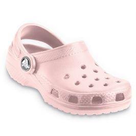 Crocs Dívčí sandály Classic - světle růžové