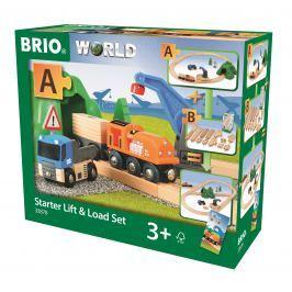 Brio WORLD 33878 Vláčkodráha startovací sada nákladní vlak