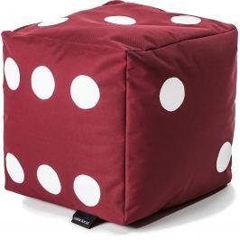 BulliBag Sedací hrací kostka - červená