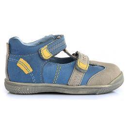 Ponte 20 Chlapecké kožené sandály - modré