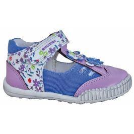 Protetika Dívčí sandály Ventura - modro-fialové