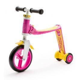 Scoot & Ride Koloběžka Highwaybaby+ růžová/žlutá 2017