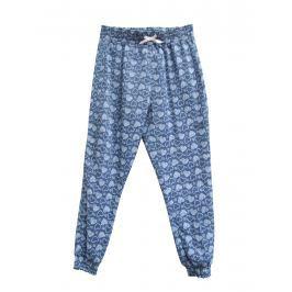 Topo Dívčí kalhoty se srdíčky - modré