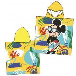 Disney by Arnetta Chlapecké pončo Mickey Mouse - žluté