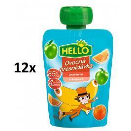 Hello Ovocná kapsička s pomeranči 12x100g