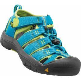 Keen Chlapecké sandály Newport H2, hawaiian blue/green glow - tyrkysové