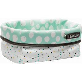 Bebe-jou Textilní košík na kojenecké potřeby Confetti Party