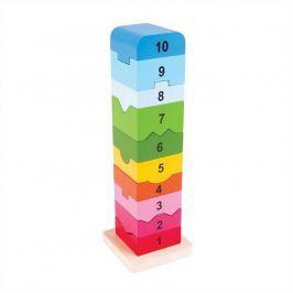 Bigjigs Věž s anglickými čísly