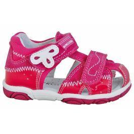 Protetika Dívčí sandály Areta - růžové