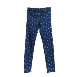 Topo Dívčí kalhoty s hvězdičkami - modré