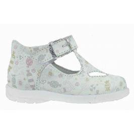 Primigi Dívčí kotníkové sandály - bílé