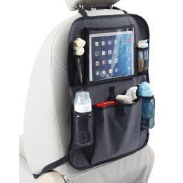 Baby Dan Kapsář do auta s kapsou na tablet, Luxury Grey