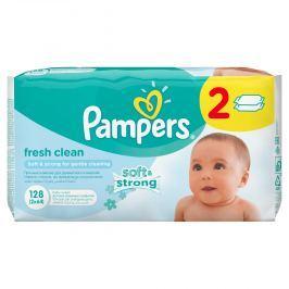 Pampers Vlhčené ubrousky Fresh Clean 2x64 ks