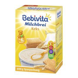 Bebivita Mléčná kaše sušenková 600g