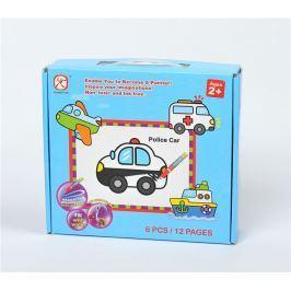 Mac Toys Vybarvovací puzzle doprava