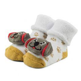Attractive Chlapecké ponožky s pejskem - barevné