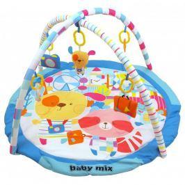 Baby Mix hrací deka s hrazdou - Veselá cesta