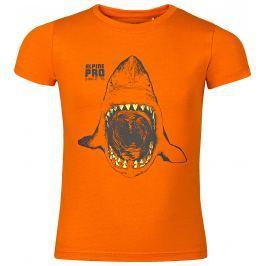 ALPINE PRO Chlapecké tričko SPORO - Oranžové