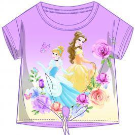Disney by Arnetta Dívčí tričko Princess - růžové