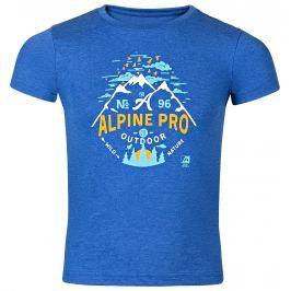ALPINE PRO Chlapecké tričko  GARO 2 - modré