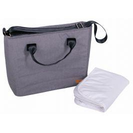 BOMIMI Seba přebalovací taška, grey melange