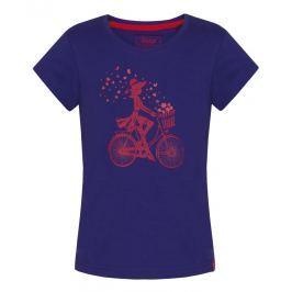 LOAP Dívčí tričko Birka - fialové