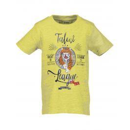 Blue Seven Chlapecké tričko s potiskem - žluté