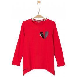 s.Oliver Dívčí tričko - červené
