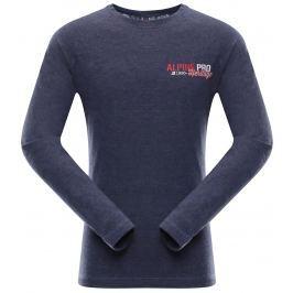 ALPINE PRO Dětské tričko DIDILO 4 - tmavě šedé