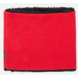 Brekka Dětský nákrčník double fleece - červený
