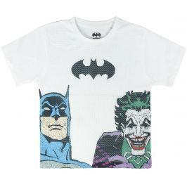 Disney Brand Chlapecké tričko Batman&Joker - bílé