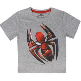 Disney Brand Chlapecké tričko Spiderman - šedé
